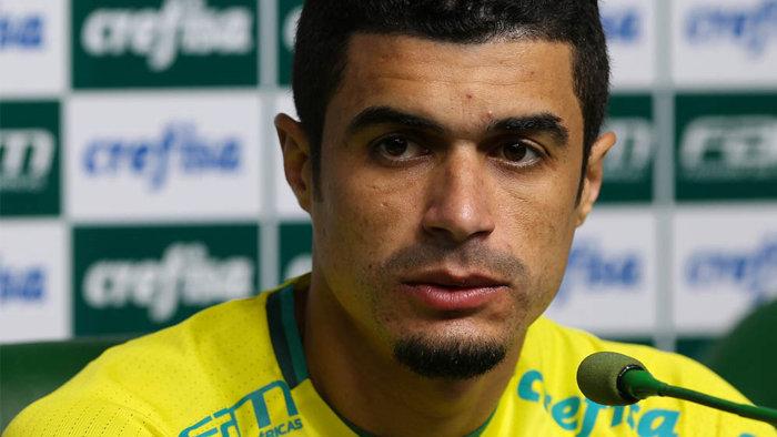 Egídio quer o Palmeiras muito focado para reta final do Campeonato Brasileiro. (Cesar Greco/Ag.Palmeiras/Divulgação)