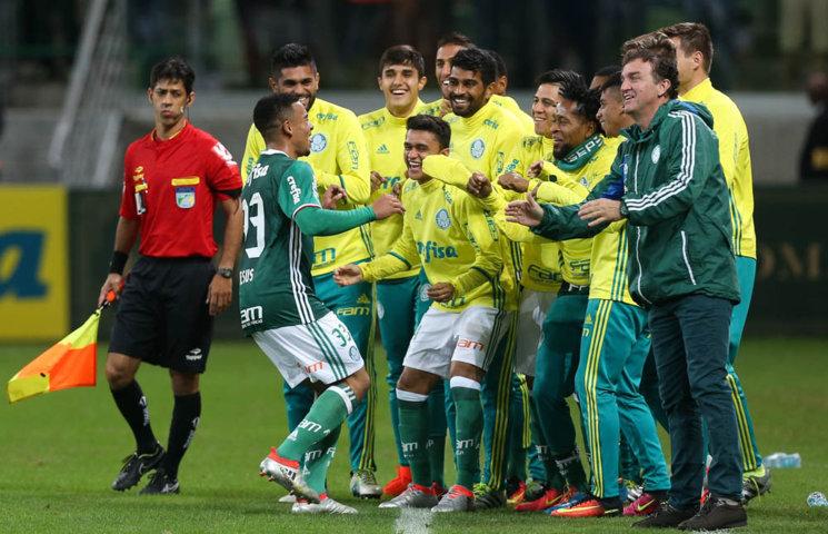 Com 15 gols marcados, Gabriel Jesus é o artilheiro do Palmeiras na temporada. (Cesar Greco/Ag Palmeiras/Divulgação)