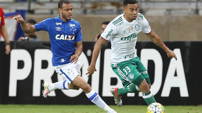 Mesmo com revés em Belo Horizonte, Palmeiras segue brigando pela liderança do Campeonato Brasileiro. (Cesar Greco/Ag.Palmeiras/Divulgação)