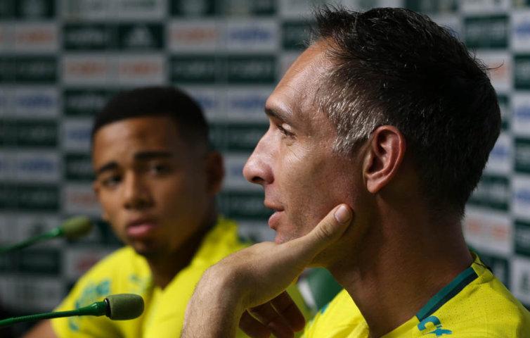 Aos 37 anos, Fernando Prass recebeu sua primeira oportunidade na Seleção Brasileira. (Cesar Greco/Ag.Palmeiras/Divulgação)