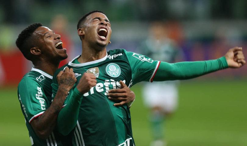 Polivalente, Tchê Tchê tem sido titular desde que chegou ao Palmeiras. (Cesar Greco/Ag Palmeiras/Divulgação)