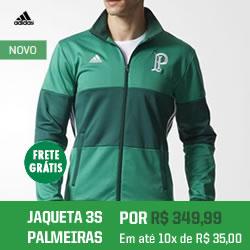 Compre agora a nova jaqueta do Verdão!