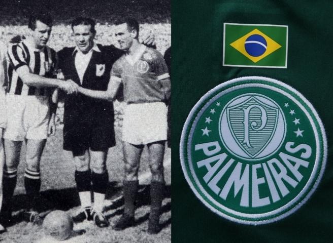 Camisa terá bandeira brasileira estampada junto ao símbolo do Verdão. (Divulgação)