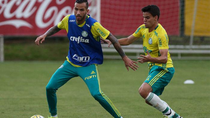 Verdão iniciou a preparação para a partida na segunda-feira (4) diante do Sport. (Cesar Greco/Ag.Palmeiras/Divulgação)