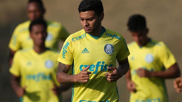 Elenco palmeirense iniciou trabalhos em Atibaia-SP nesta quinta (15). (Cesar Greco/Ag.Palmeiras/Divulgação)