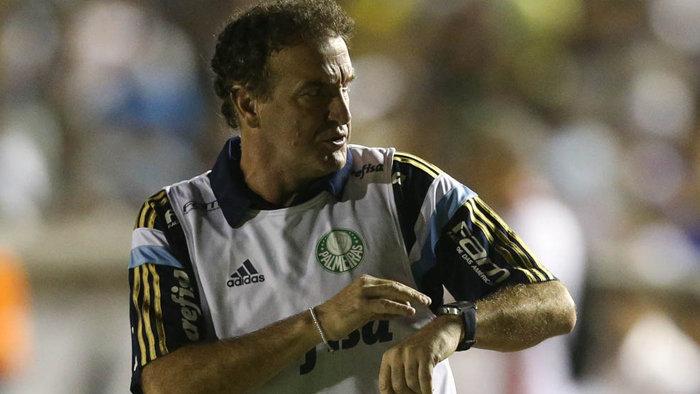 Cuca analisou o revés na Paraíba e a classificação à próxima fase da Copa do Brasil. (Cesar Greco/Ag.Palmeiras/Divulgação)