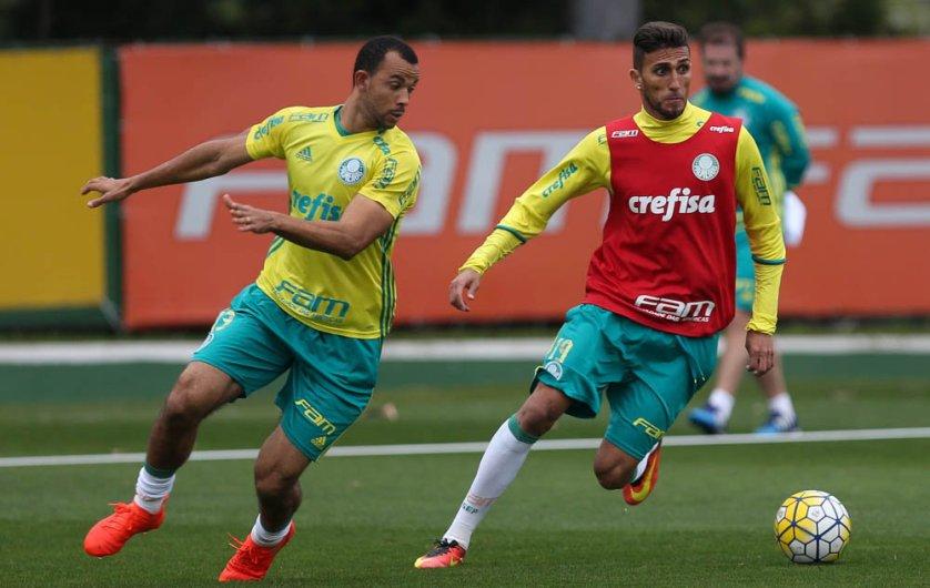 Rafael Marques pode disputar sua 99ª partida pelo clube. (Cesar Greco/Ag.Palmeiras/Divulgação)