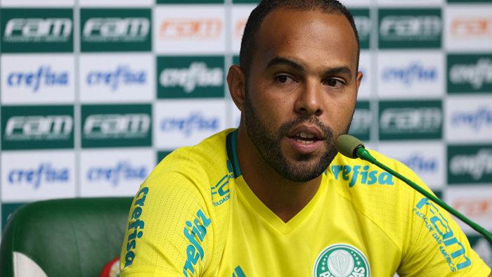 Alecsandro voltou aos gramados no último dia 21, diante do Botafogo-PB. (Cesar Greco/Ag.Palmeiras/Divulgação)