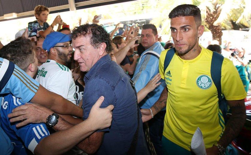 Palmeiras volta a Londrina para encarar o América-MG. (Cesar Greco/Ag.Palmeiras/Divulgação)