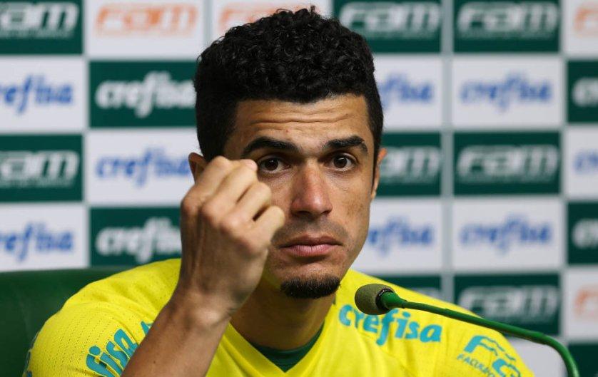 No Palmeiras deste 2015, Egídio tem 62 jogos disputados com a camisa alviverde. (Cesar Greco/Ag.Palmeiras/Divulgação)
