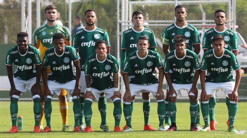 Sub-20 fez boa campanha na primeira fase, terminando no segundo lugar da chave. (Fabio Menotti/Ag.Palmeiras/Divulgação)