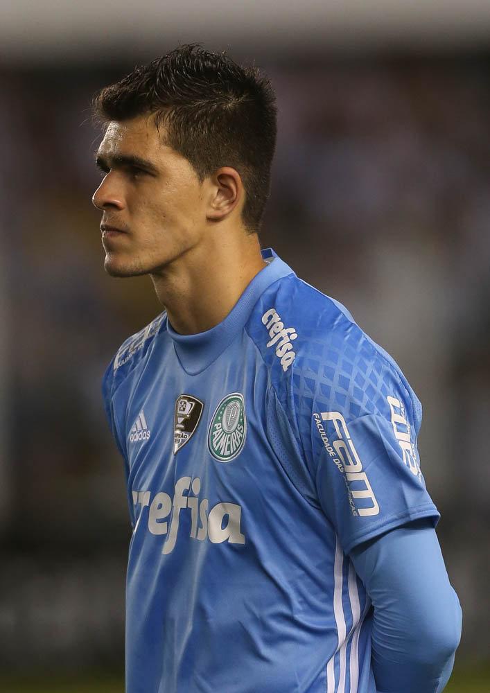 Cria das categorias de base, Vinicius teve sua primeira oportunidade no profissional. (Cesar Greco/Ag.Palmeiras/Divulgação)
