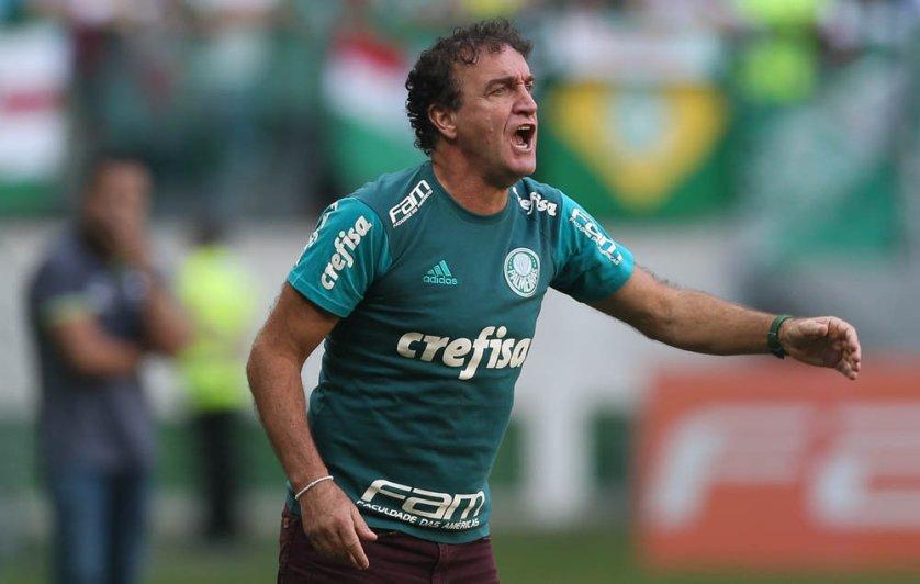 No comando de Cuca, Palmeiras tem apenas um revés nos últimos 19 jogos pelo Brasileirão. (Cesar Greco/Ag.Palmeiras/Divulgação)