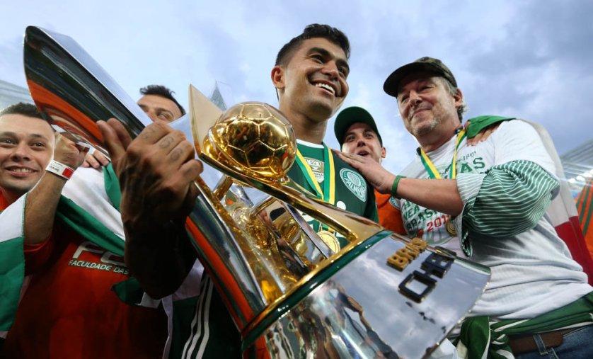 Com nove troféus, Palmeiras reassume liderança isolada no ranking dos campeões. (Cesar Greco/Ag.Palmeiras/Divulgação)