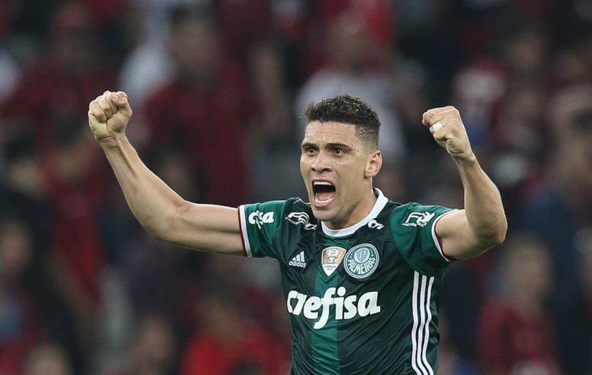 Um dos xodós da torcida palestrina, Moisés acredita em um 2017 ainda melhor. (Cesar Greco/Ag Palmeiras/Divulgação)