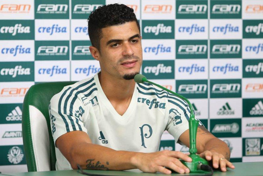 No Verdão desde 2015, Egídio soma 70 jogos com a camisa alviverde. (Cesar Greco/Ag.Palmeiras/Divulgação)
