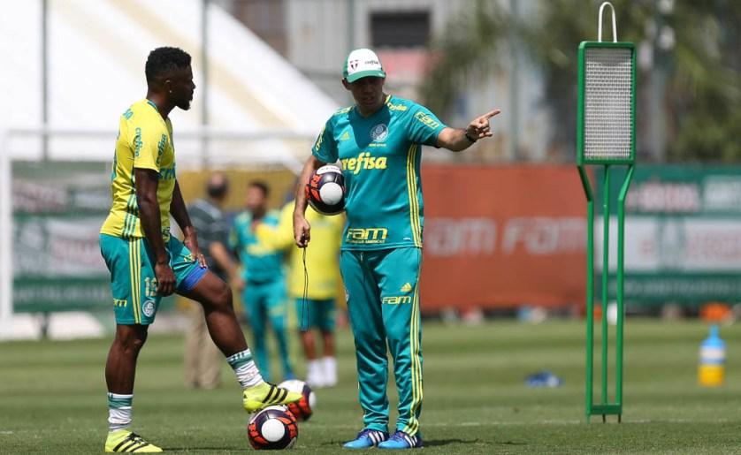 Elenco palestrino segue em preparação para primeiro jogo oficial do ano. (Cesar Greco/Ag.Palmeiras/Divulgação)