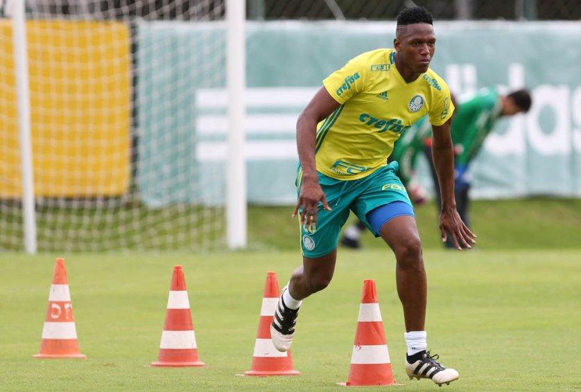 Elenco palestrino segue preparação para estreia do Campeonato Paulista. (Cesar Greco/Ag.Palmeiras/Divulgação)