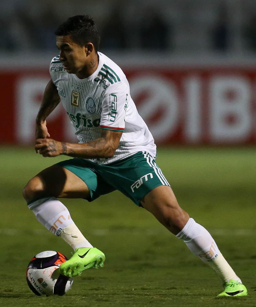 Dudu é um dos líderes da equipe de Eduardo Baptista. (Cesar Greco/Ag. Palmeiras/Divulgação)