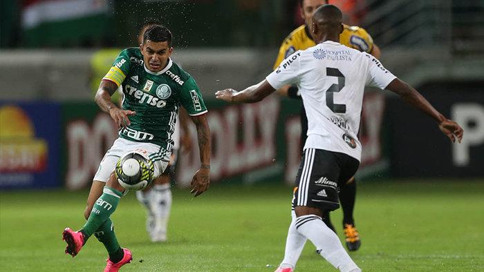 O capitão alviverde ressaltou a importância da campanha na Libertadores. (Cesar Greco/Ag. Palmeiras/Divulgação)