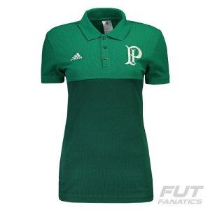 Polo Adidas Palmeiras Premium Feminina