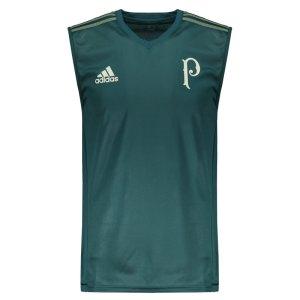 Regata Adidas Palmeiras Treino 2017 Verde