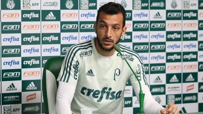 Dracena completou 36 anos nesta quinta-feira. (Cesar Greco/Ag Palmeiras/Divulgação)