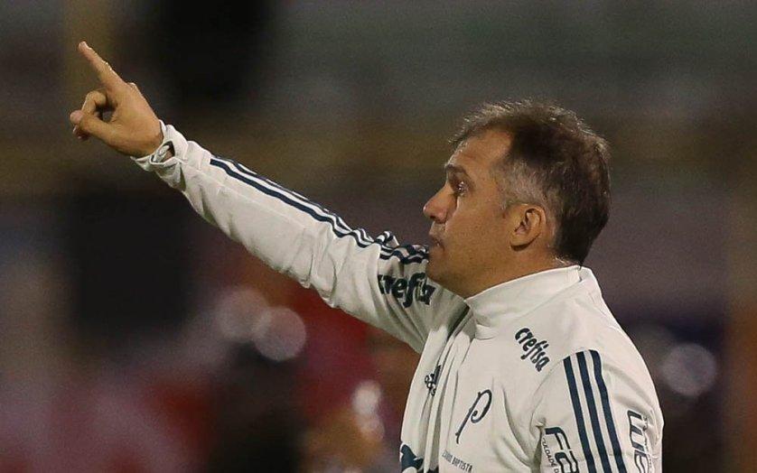 Baptista avaliou atuação na Bolívia e projetou o duelo decisivo com o Atlético Tucumán. (Cesar Greco/Ag. Palmeiras/Divulgação)