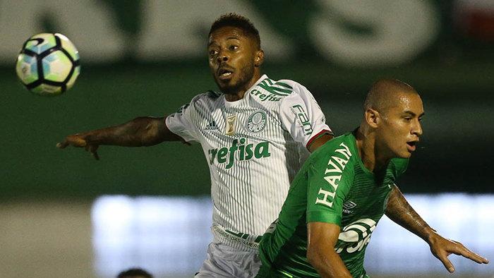 O Palmeiras sofreu seu primeiro revés no Campeonato Brasileiro. (Cesar Greco/Ag Palmeiras/Divulgação)