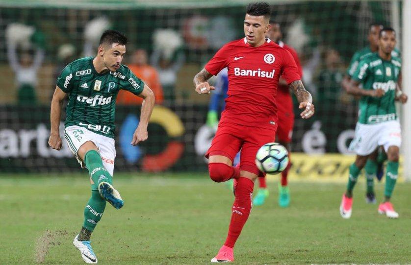 Willian é o artilheiro do Verdão em 2017. (Cesar Greco/Ag. Palmeiras/Divulgação)
