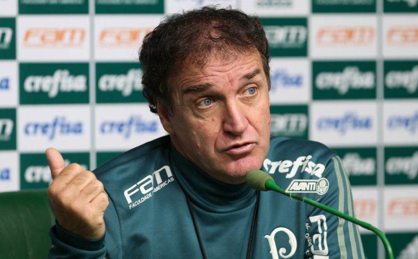 Para Cuca, Verdão pode ser ainda melhor do que foi na temporada passada. (Cesar Greco/Ag. Palmeiras/Divulgação)
