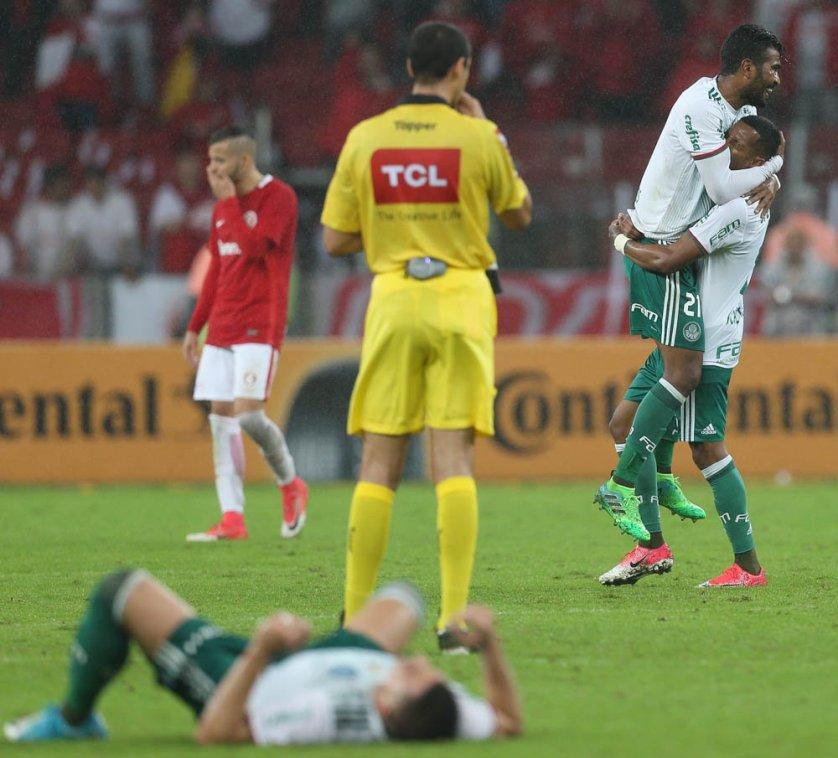 Com gol fora de casa, Palmeiras conseguiu classificação às quartas de final da Copa do Brasil. (Cesar Greco/Ag. Palmeiras/Divulgação)