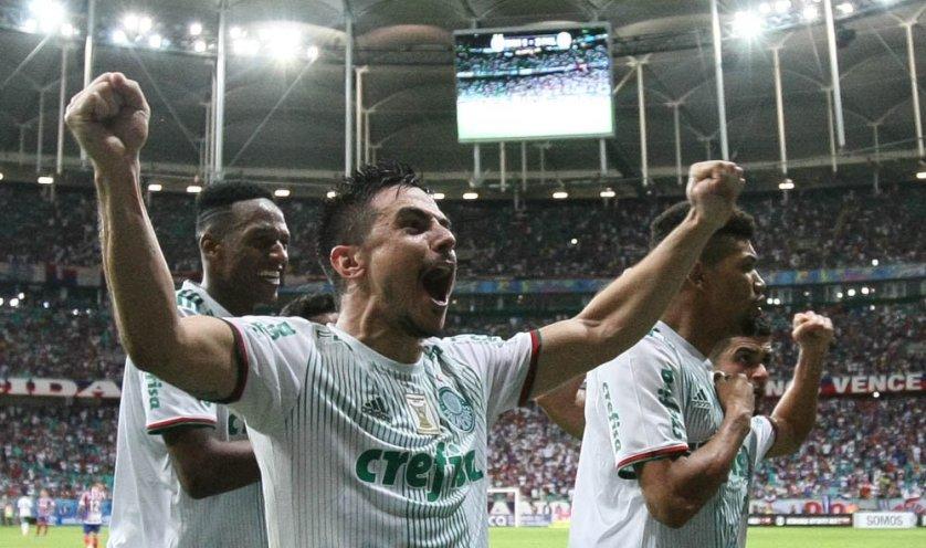 Willian é o principal goleador da equipe na temporada. (Cesar Greco/Ag. Palmeiras/Divulgação)