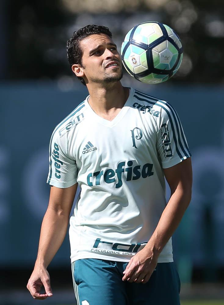 Jean participou de grande parte da movimentação. (Cesar Greco/Ag Palmeiras/Divulgação)
