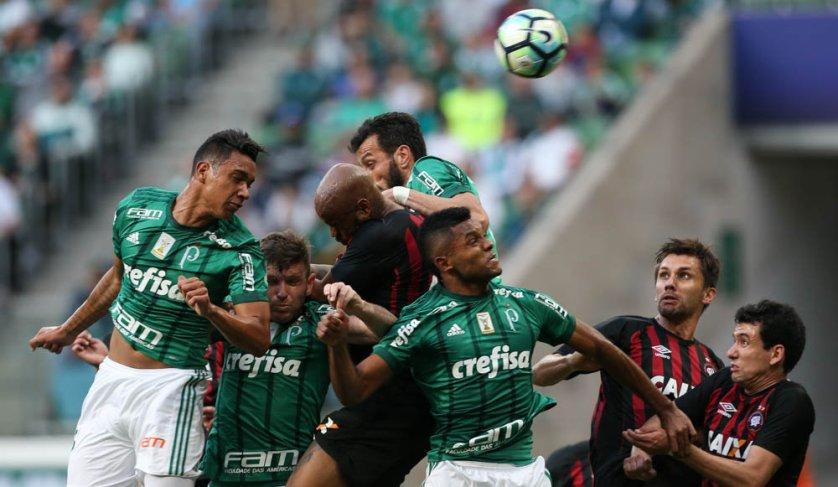 Verdão segue na quarta colocação do Campeonato Brasileiro, com 32 pontos marcados. (Cesar Greco/Ag. Palmeiras/Divulgação)