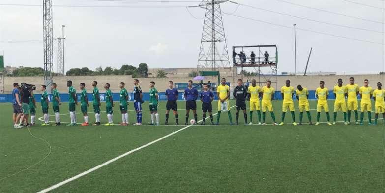 O Verdão marcou 10 gols em dois jogos no Mundial de Clubes Sub-17. (Divulgação)
