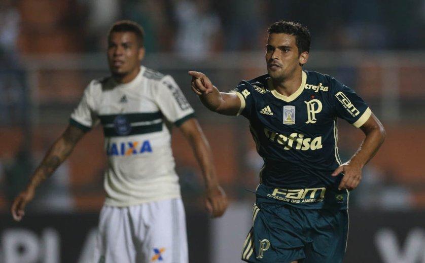 Jean chegou ao seu 12º gol pelo Palmeiras em 88 jogos. (Cesar Greco/Ag Palmeiras/Divulgação)