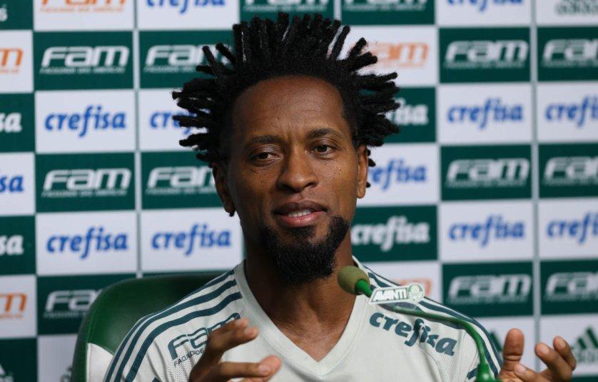 Zé Roberto conversou com a imprensa na tarde desta quinta-feira (28). (Cesar Greco/Ag Palmeiras/Divulgação)