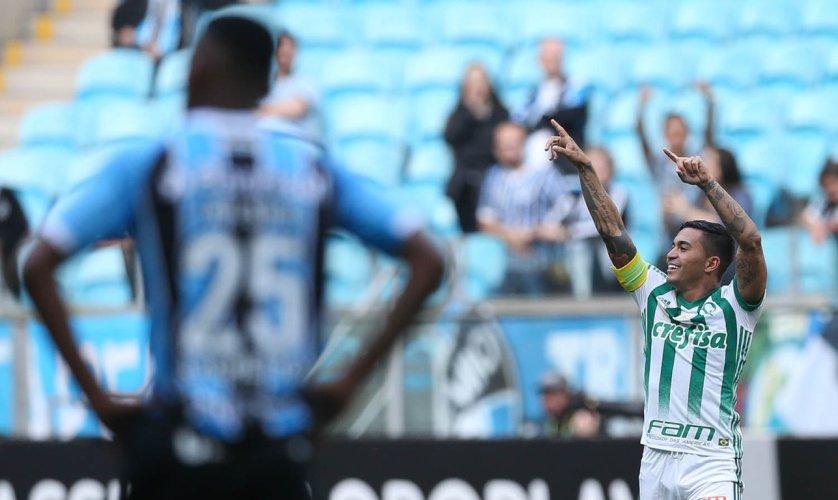 Desde que Alberto Valentim assumiu o comando do alviverde, são três jogos e três vitórias. (Cesar Greco/Ag. Palmeiras/Divulgação)