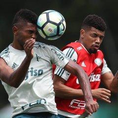 Com treino tático, Palmeiras encerra preparação e embarca para Florianópolis