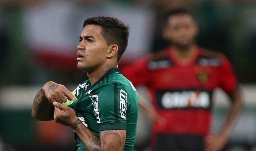Dudu chegou ao seu 21º gol marcado no Allianz Parque. (Cesar Greco/Ag Palmeiras/Divulgação)