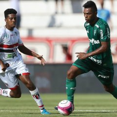 Com 45 jogos pelo Verdão, Borja comemora gol: 'Resultado de trabalho'
