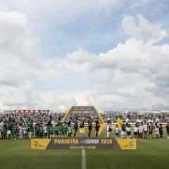 Fora de casa, Palmeiras bate o Bragantino e segue 100% no Paulista