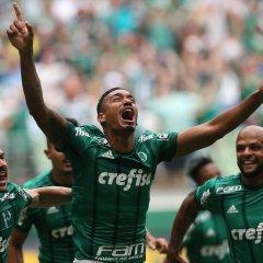 No Allianz Parque cheio, Palmeiras bate Santos no primeiro clássico do ano