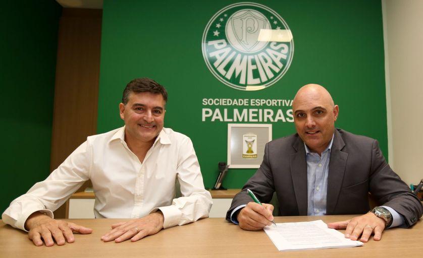 Palmeiras e PUMA fecharam contrato por três anos. (Fabio Menotti/Ag. Palmeiras/Divulgação)