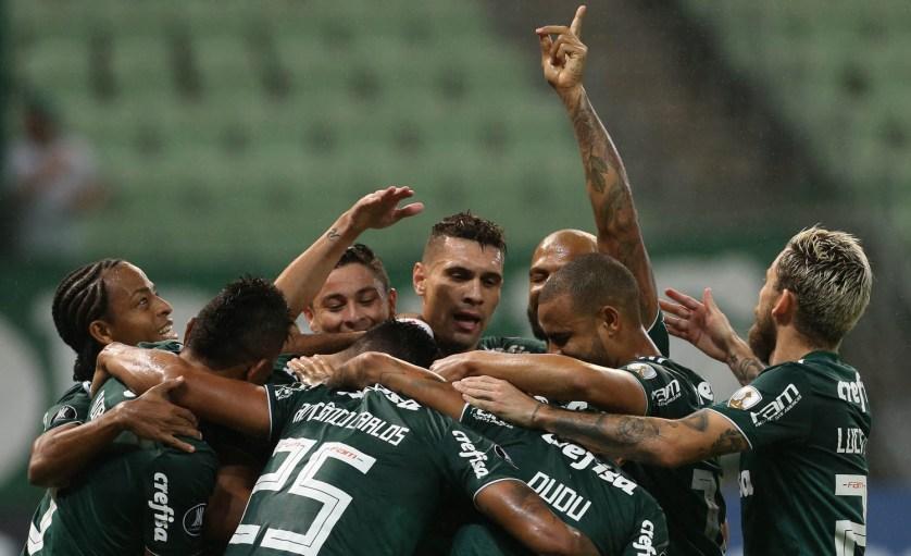 Palmeiras venceu o Alianza Lima e lidera Grupo 8 da Conmebol Libertadores com seis pontos. (Cesar Greco/Ag Palmeiras/Divulgação)