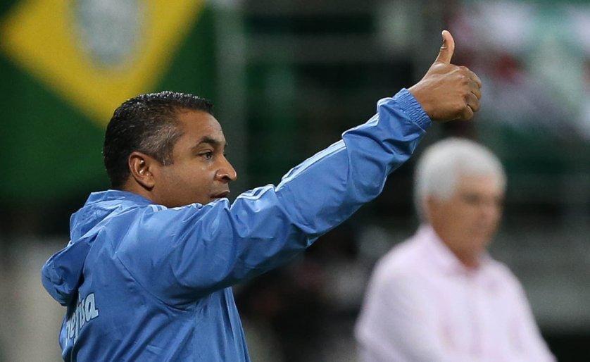 Roger Machado rasgou elogios ao Palmeiras após 3 a 0 contra Bahia no Allianz Parque. (Cesar Greco/Ag. Palmeiras/Divulgação)