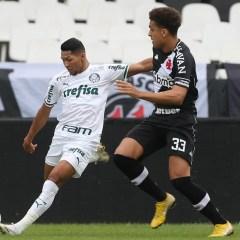 Apesar de pouco inspirado, Palmeiras derrota o Vasco por 1 a 0