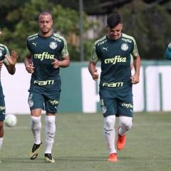 Com retorno de Viña, Empereur e Kuscevic, Palmeiras encerra preparação para jogo contra o Athletico-PR