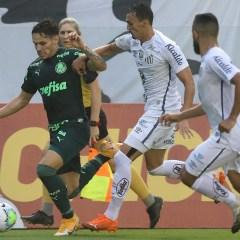 Palmeiras empata com o Santos, na Vila